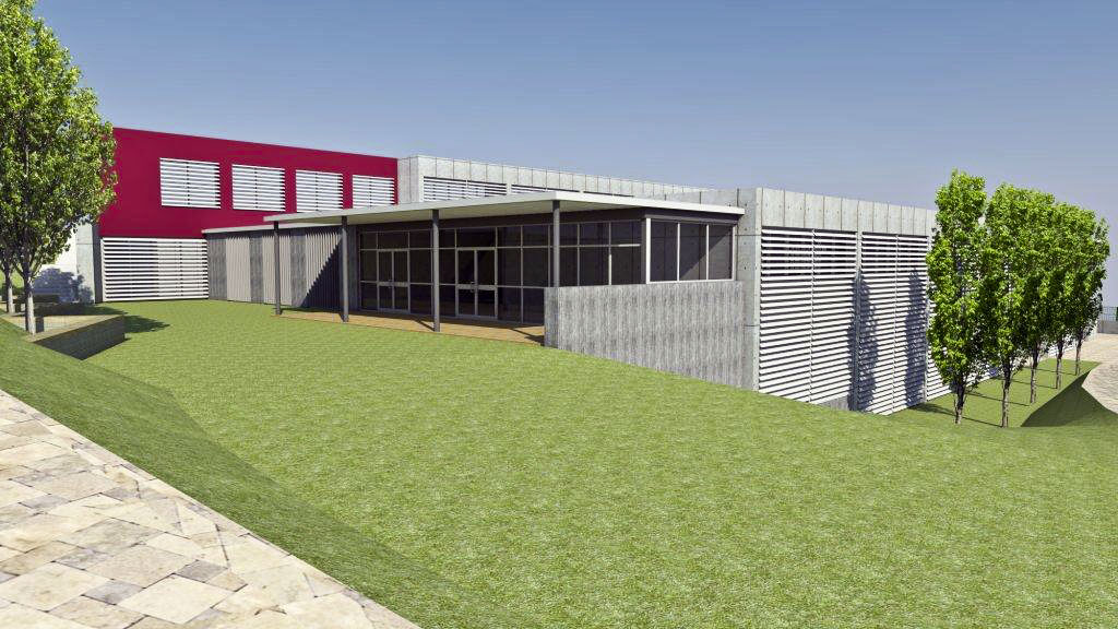 Una imatge virtual del nou edifici del Taller Ginebró