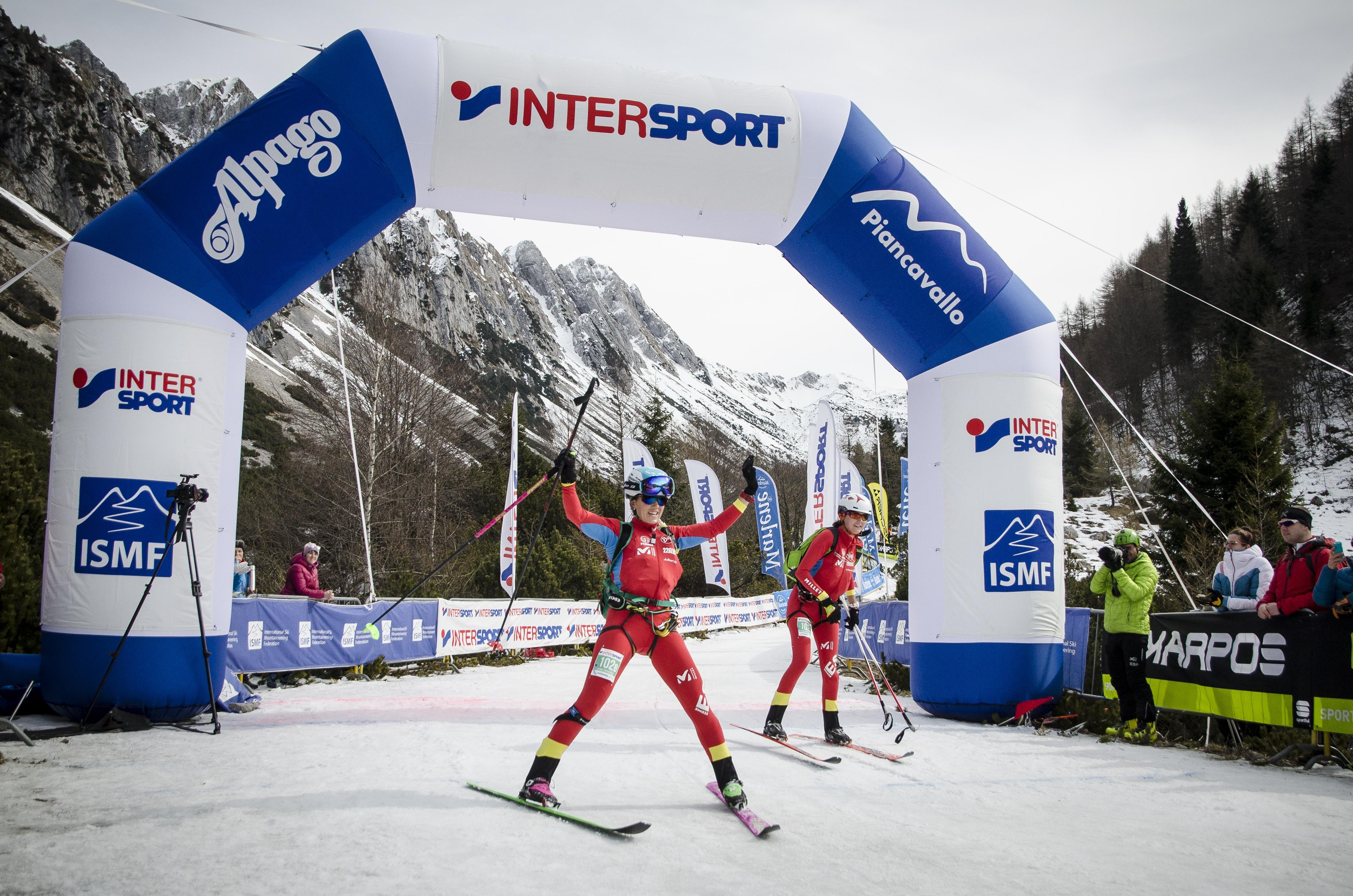 Clàudia Galícia i Mireia Miró, subcampiones del món d'esquí per equips