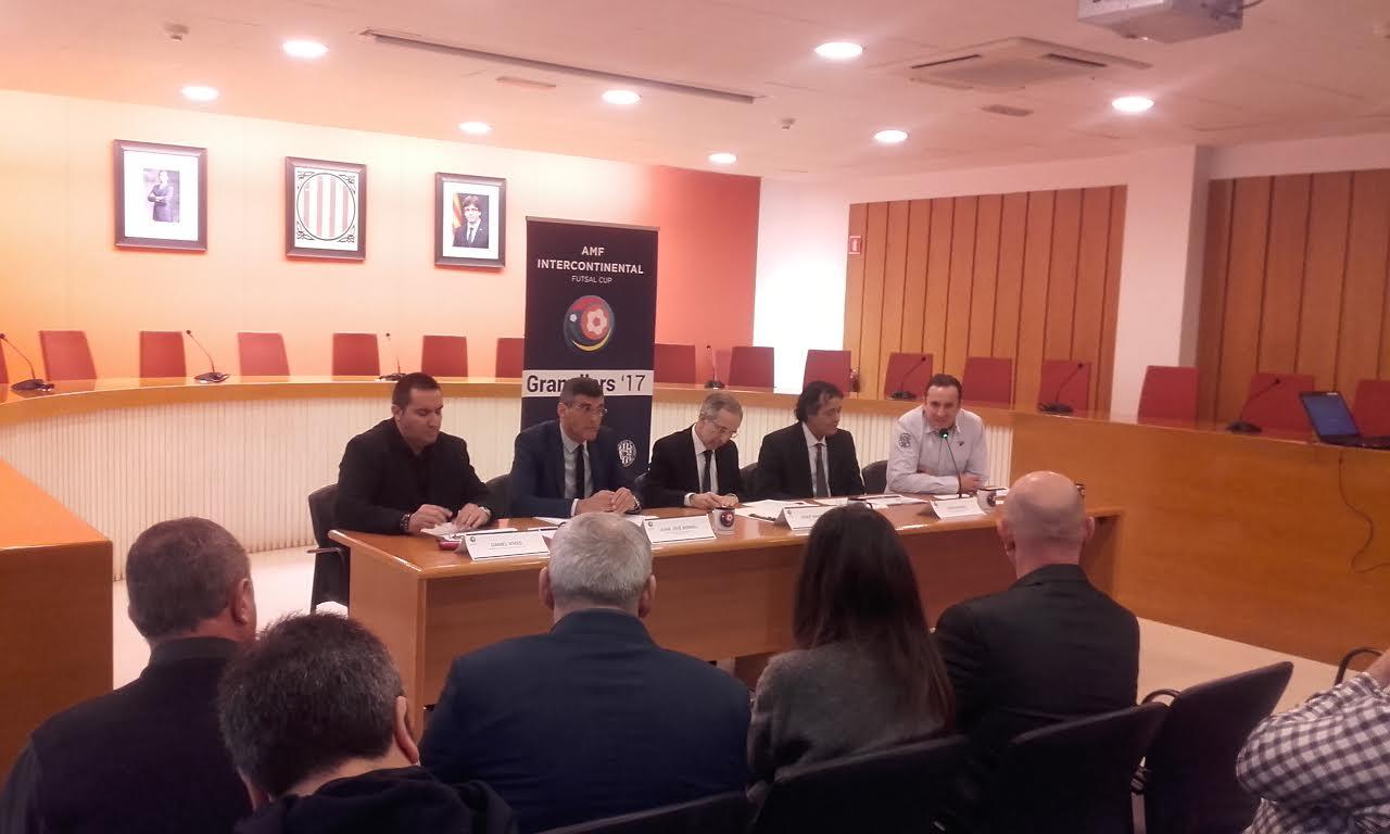 El torneig s'ha presentat a la sala de plens de l'Ajuntament
