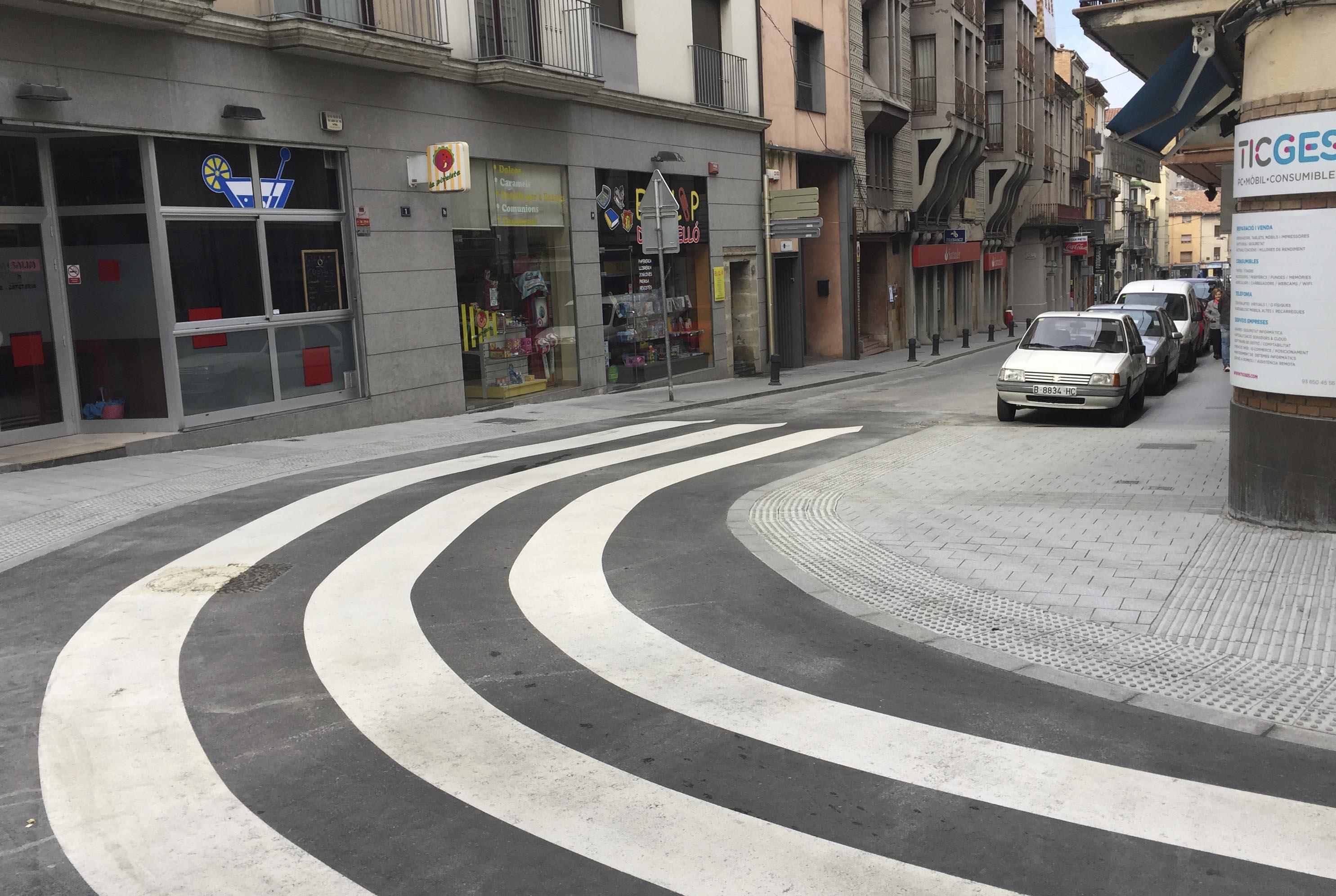 Obertura del carrer Sant Miquel