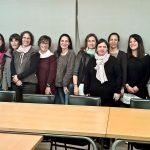 Representants de les AMPA i les direccions dels centres de la Garriga van participar en la trobada amb la regidora Meritxell Coma