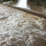 El riu Ter a Roda, a primera hora de la tarda