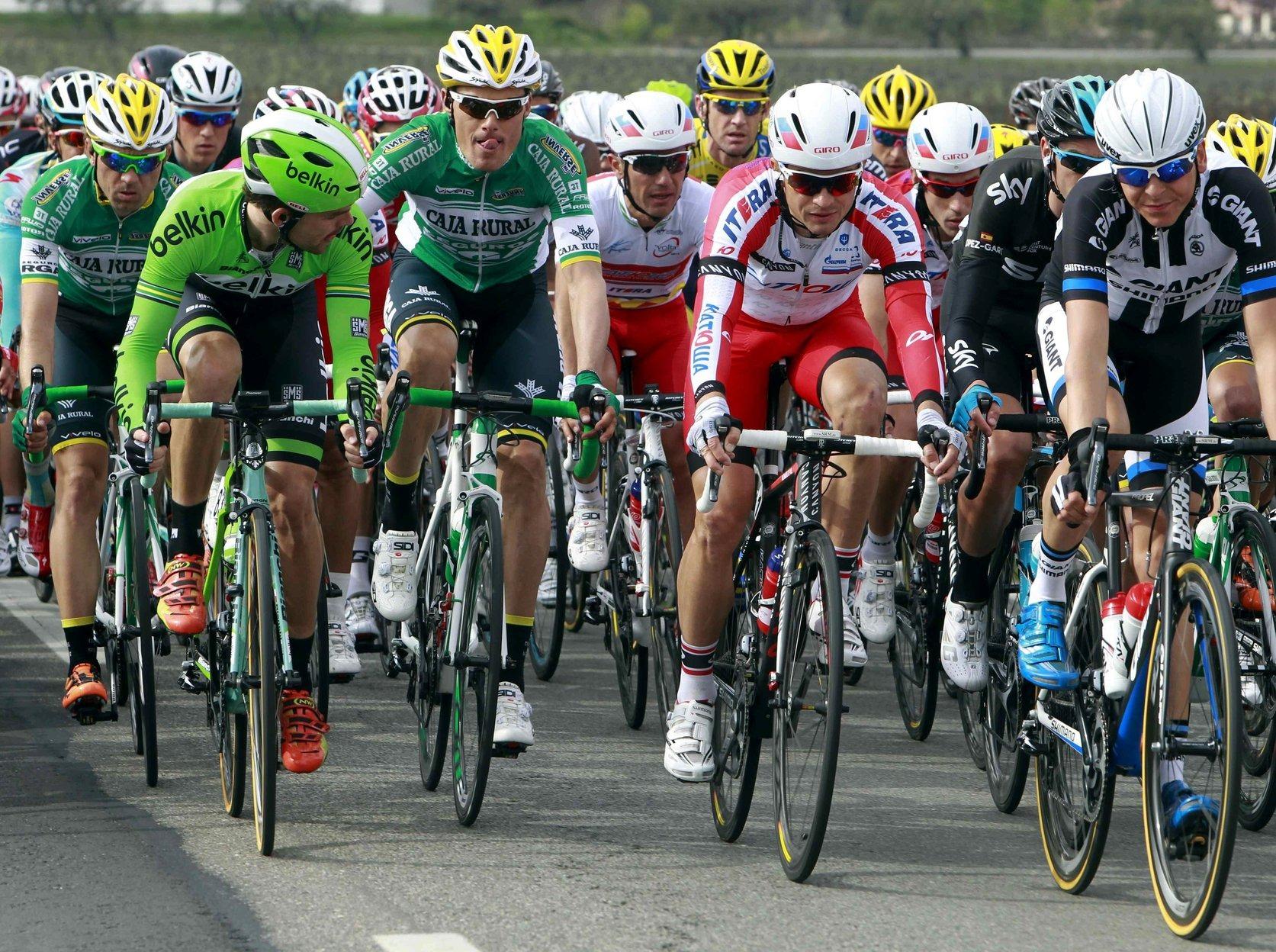 Una etapa de la Volta en una edició anterior