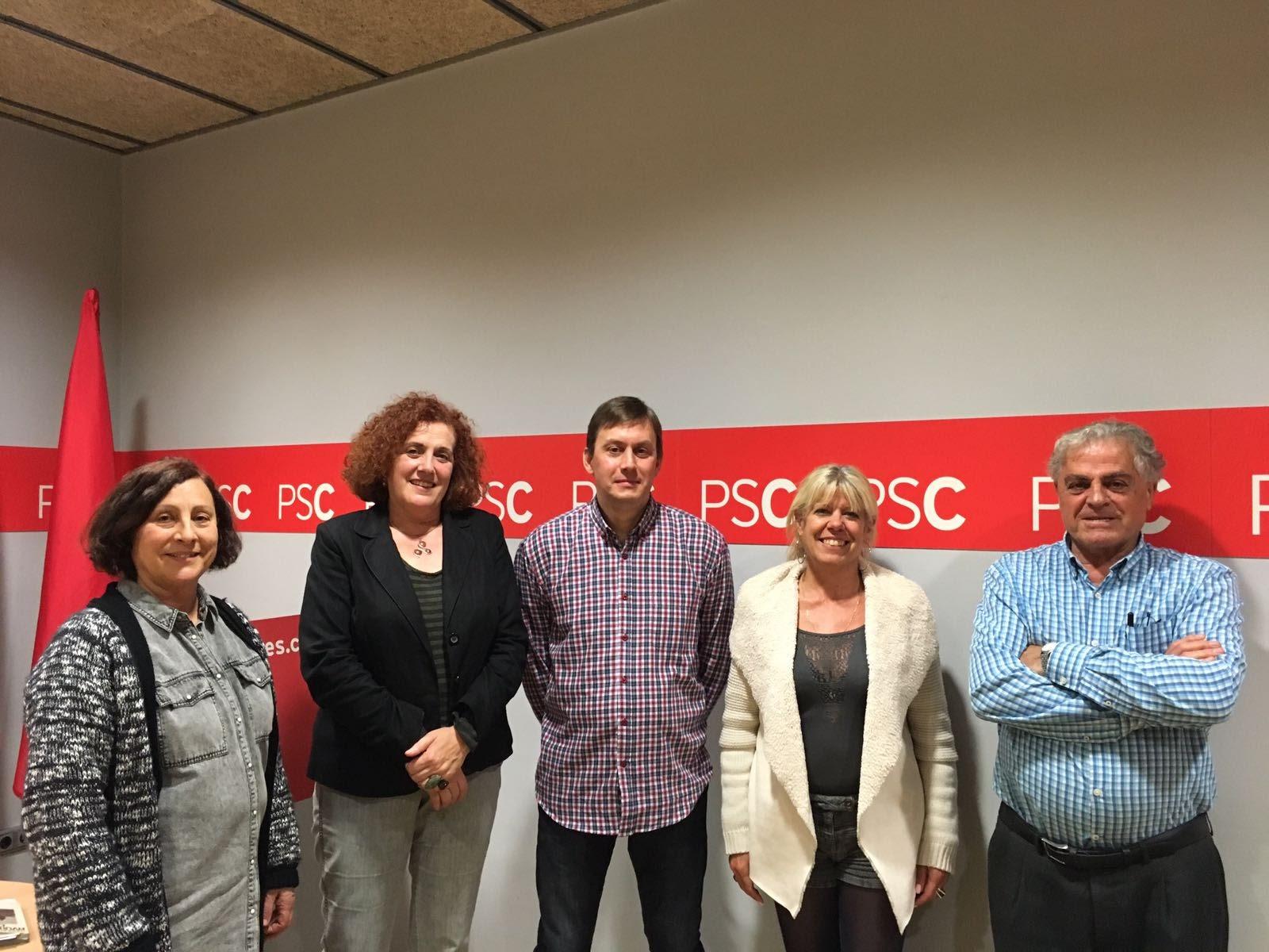 Nova comissió executiva del PSC de Vic