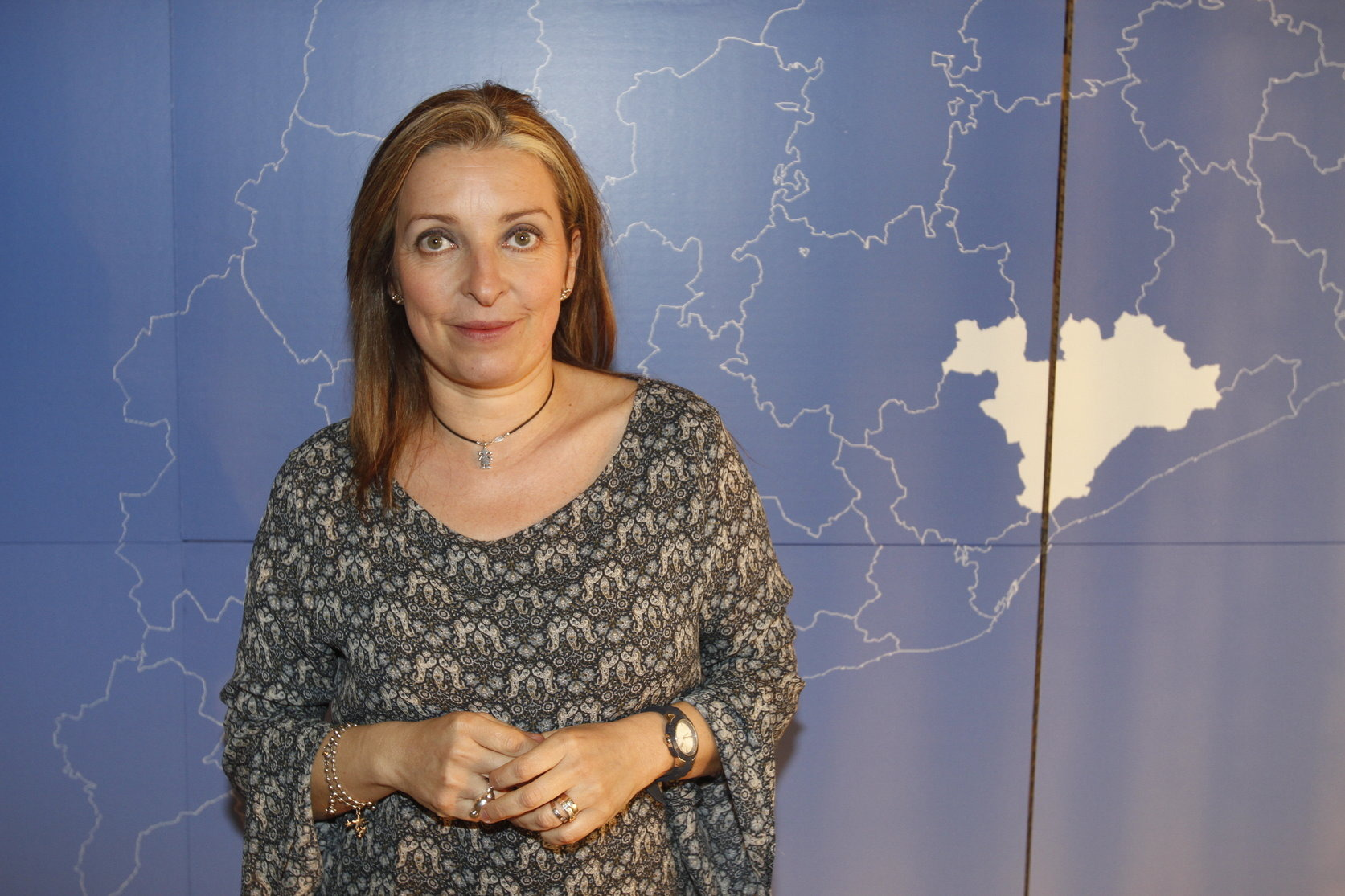 La presidenta comarcal del PP, Susana Calvo