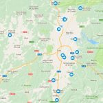 Mapa interactiu amb les retransmissions i galeries de fotos