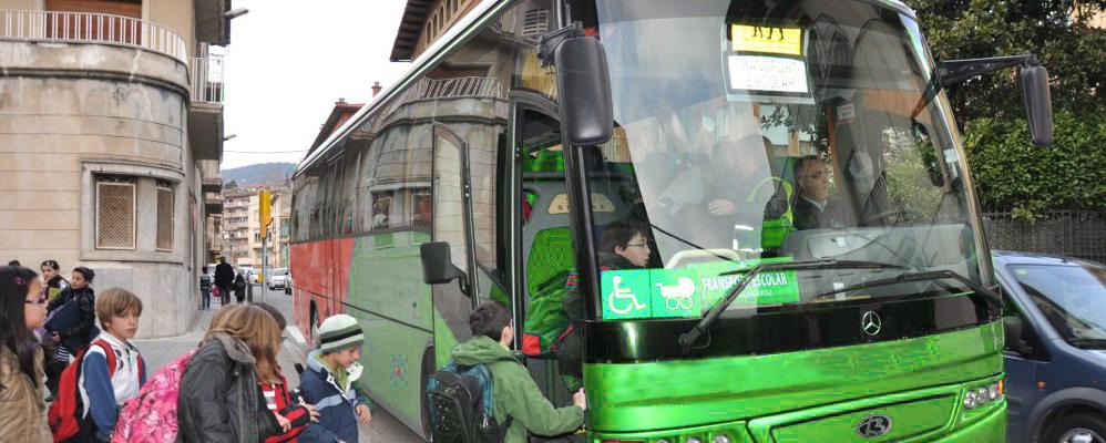 Transport escolar del Ripollès