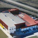 Una imatge aèria de les instal·lacions de Casa Mas a Castellterçol