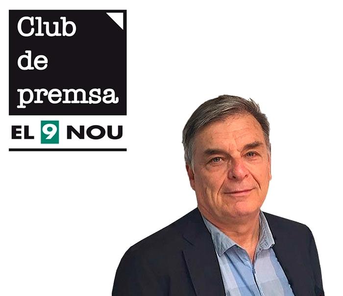 El periodista Jordi Mercader