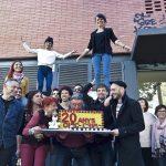 La presentació del festival ha coincidit amb la celebració dels 20 anys del Circ Cric
