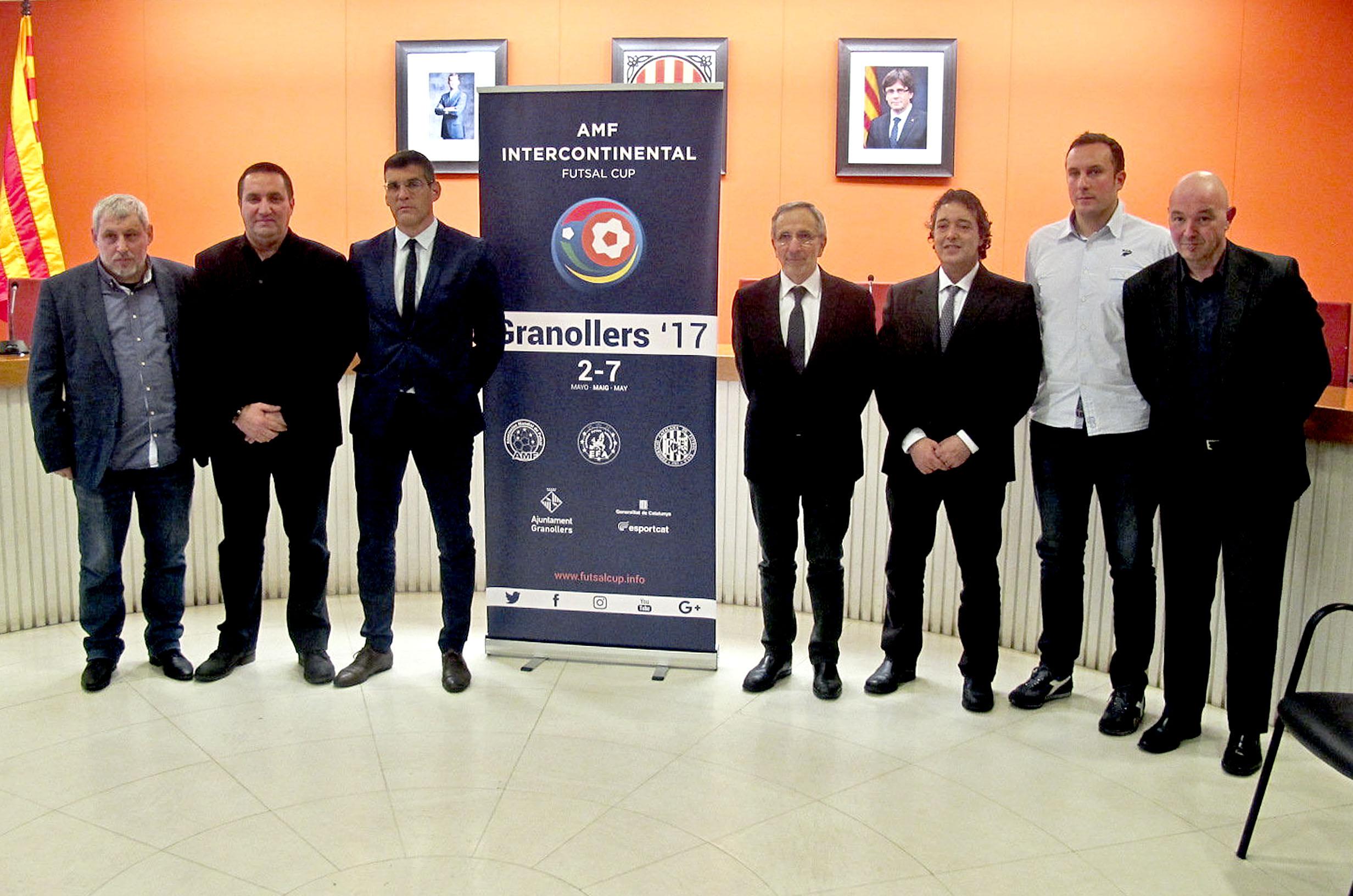 El torneig es va presentar l'1 de febrer a l'Ajuntament, on també es va signar el conveni d'organització