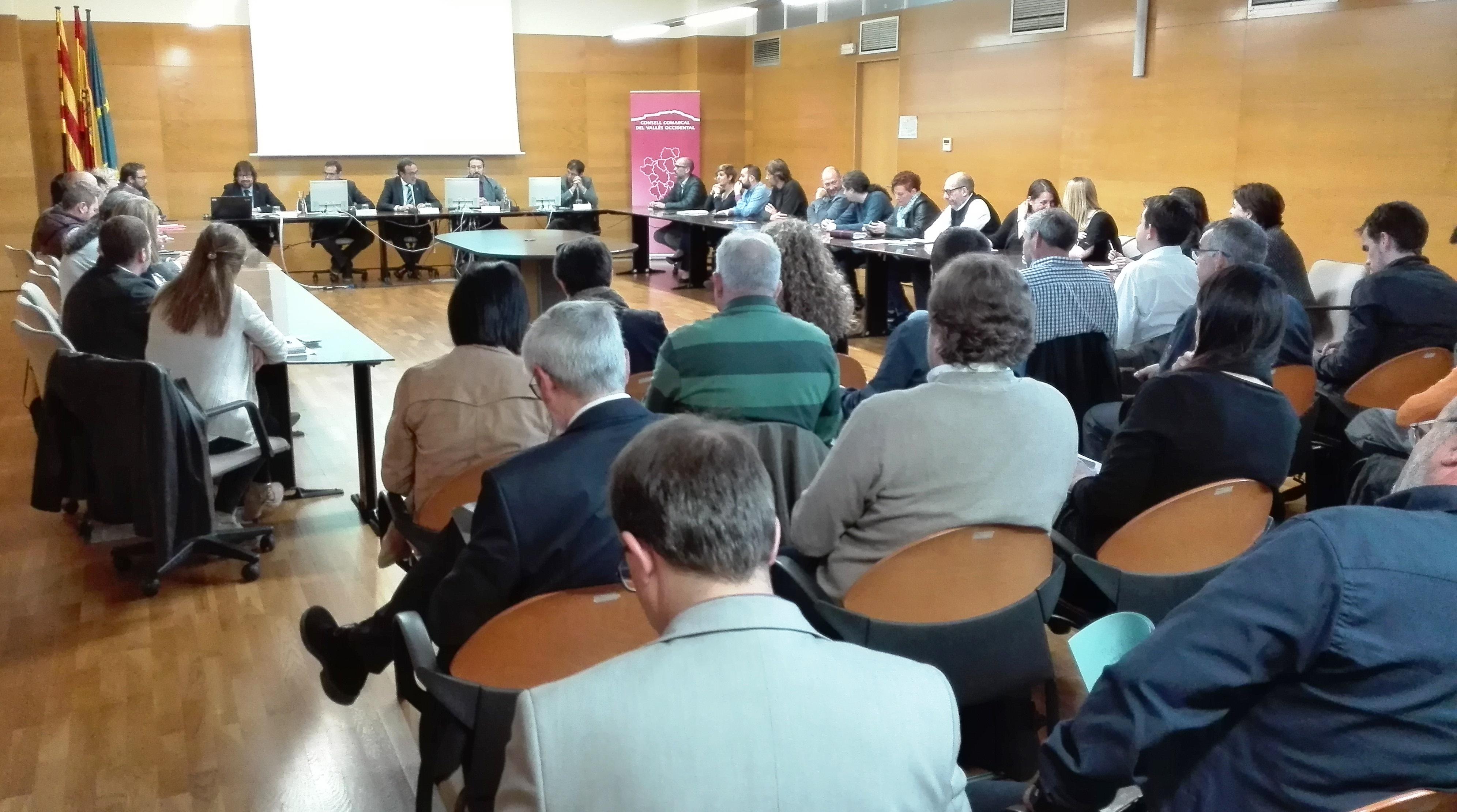 La trobada d'aquest divendres a la seu del Consell Comarcal del Vallès Occidental