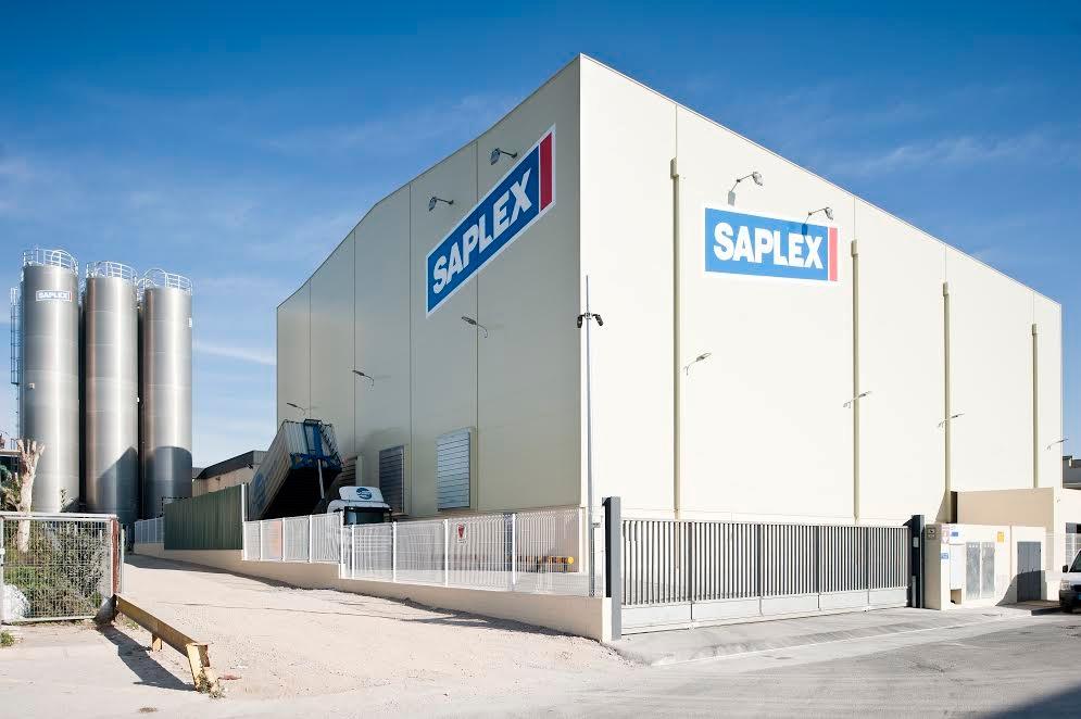 La planta de producció de Saplex a Canovelles