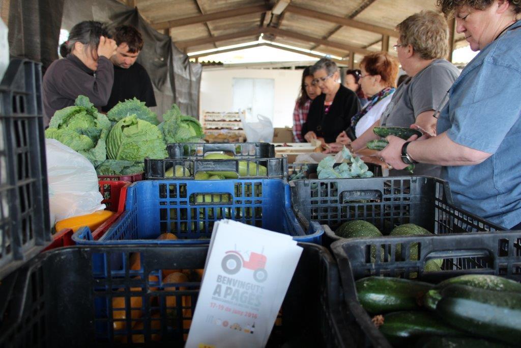 Can Quimet Gall, de Lliçà d'Amunt, és una de les explotacions que es podran visitar