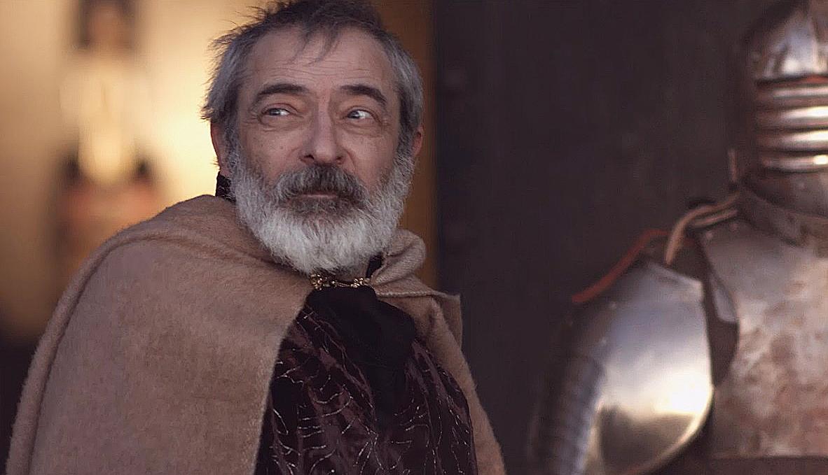 Boris Ruiz és un dels actors de 'Pàtria'