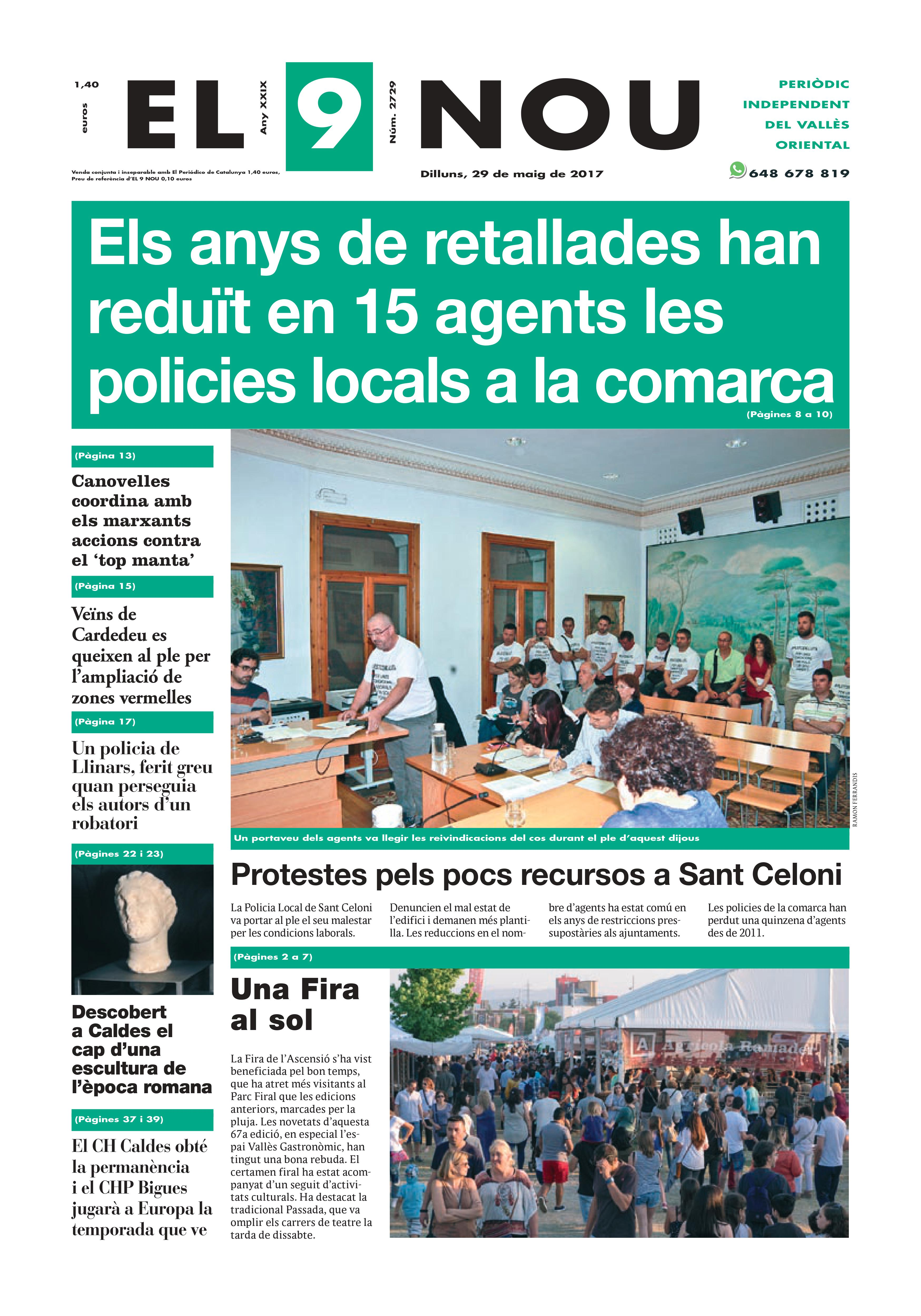 Portada Vallès Oriental 29/5/2017