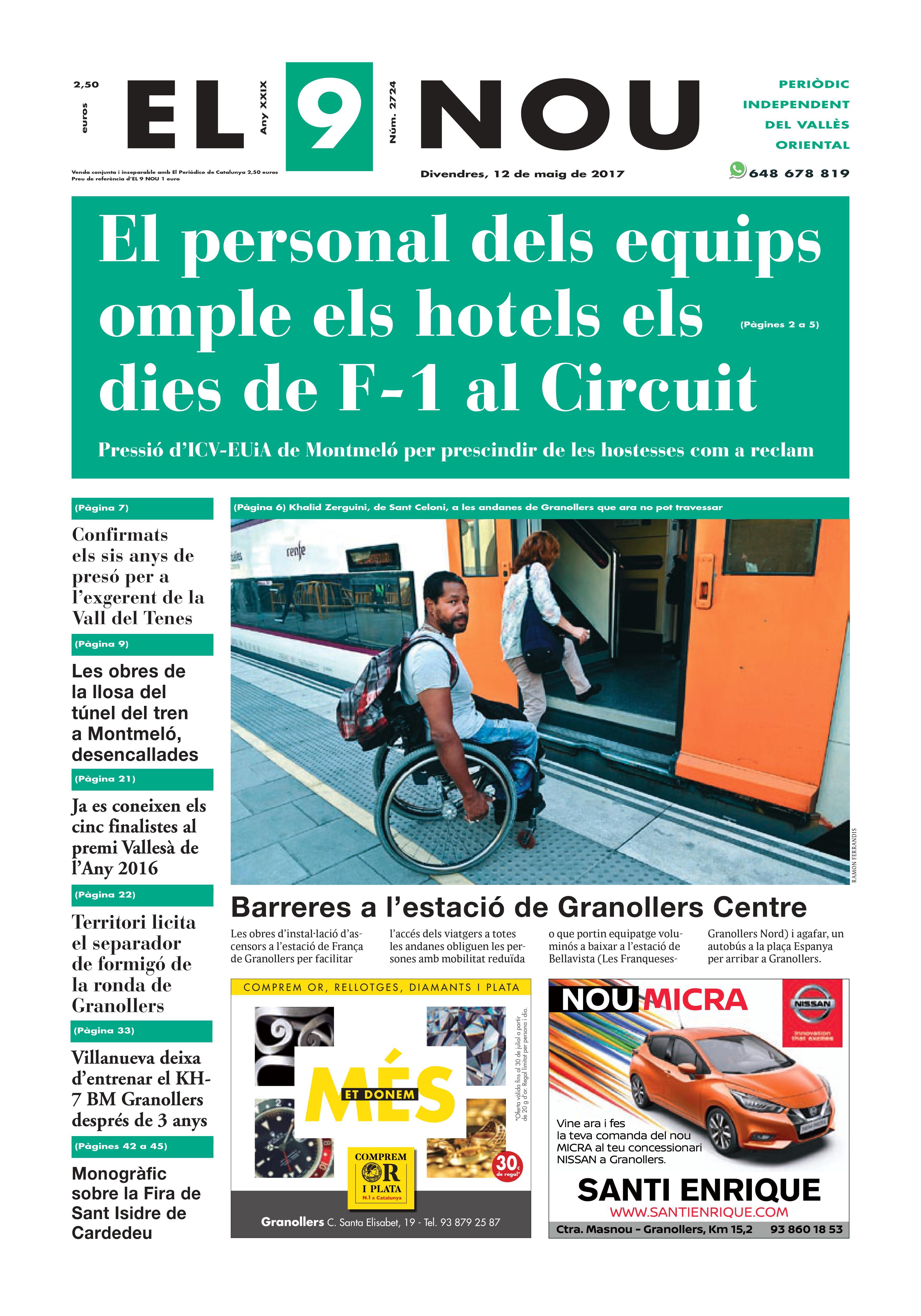 Portada Vallès Oriental 12/5/2017