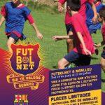 FutbolNet fomenta els valors del FC Barcelona com són l'esforç, el respecte o el treball en equip.