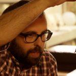 L'actor osonenc Lluís Jutglar, Peyu, en un moment de la pel·lícula
