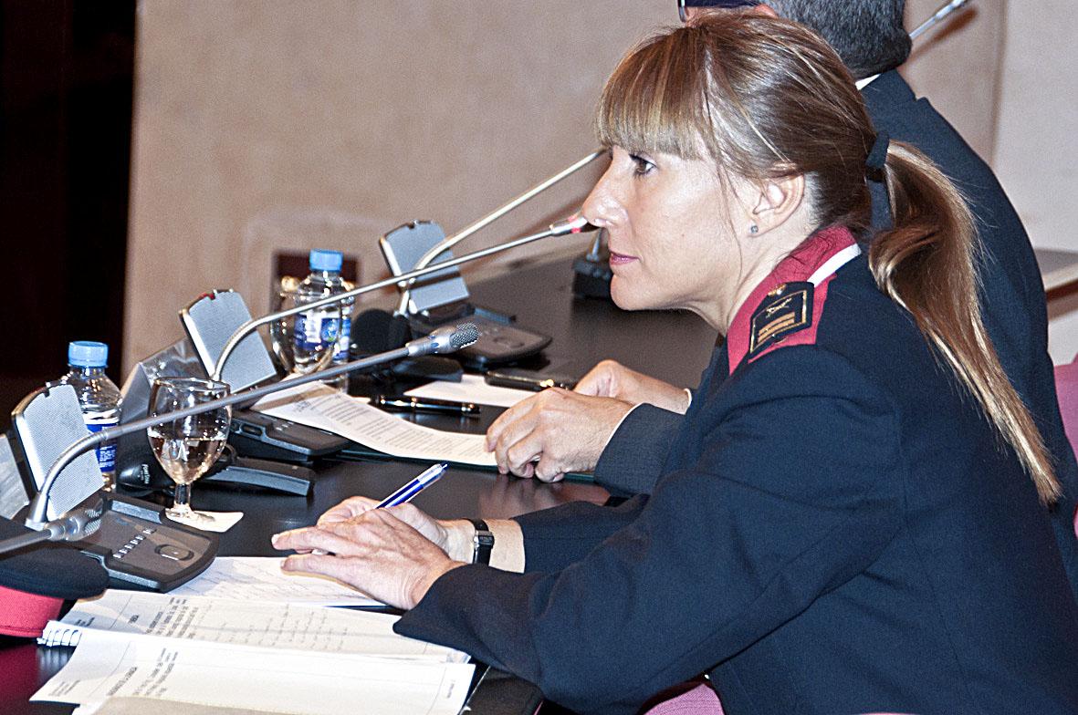La nova responsable de la Regió Policial Metropolitana Nord, Cristina Manresa