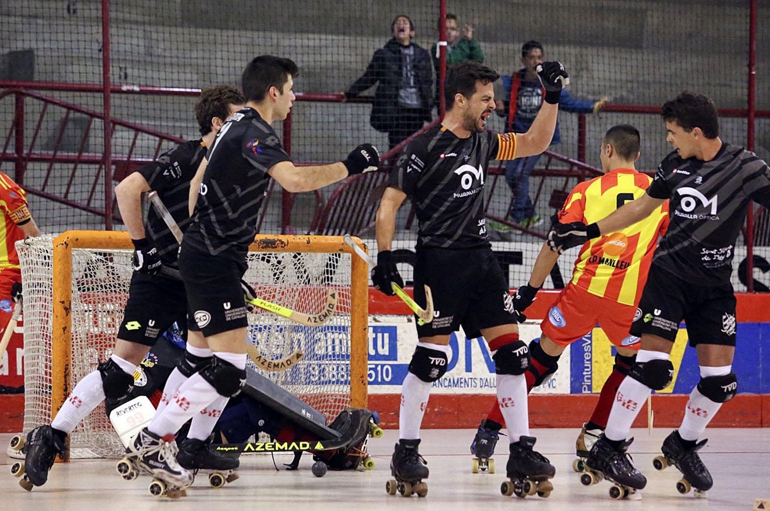 Romà Bancells és el segon màxim golejador del conjunt vigatà