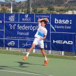 El català Max Alcalà dona la sorpresa i supera el cap de sèrie 1, Alexander Mandma, a les semifinals de la competició