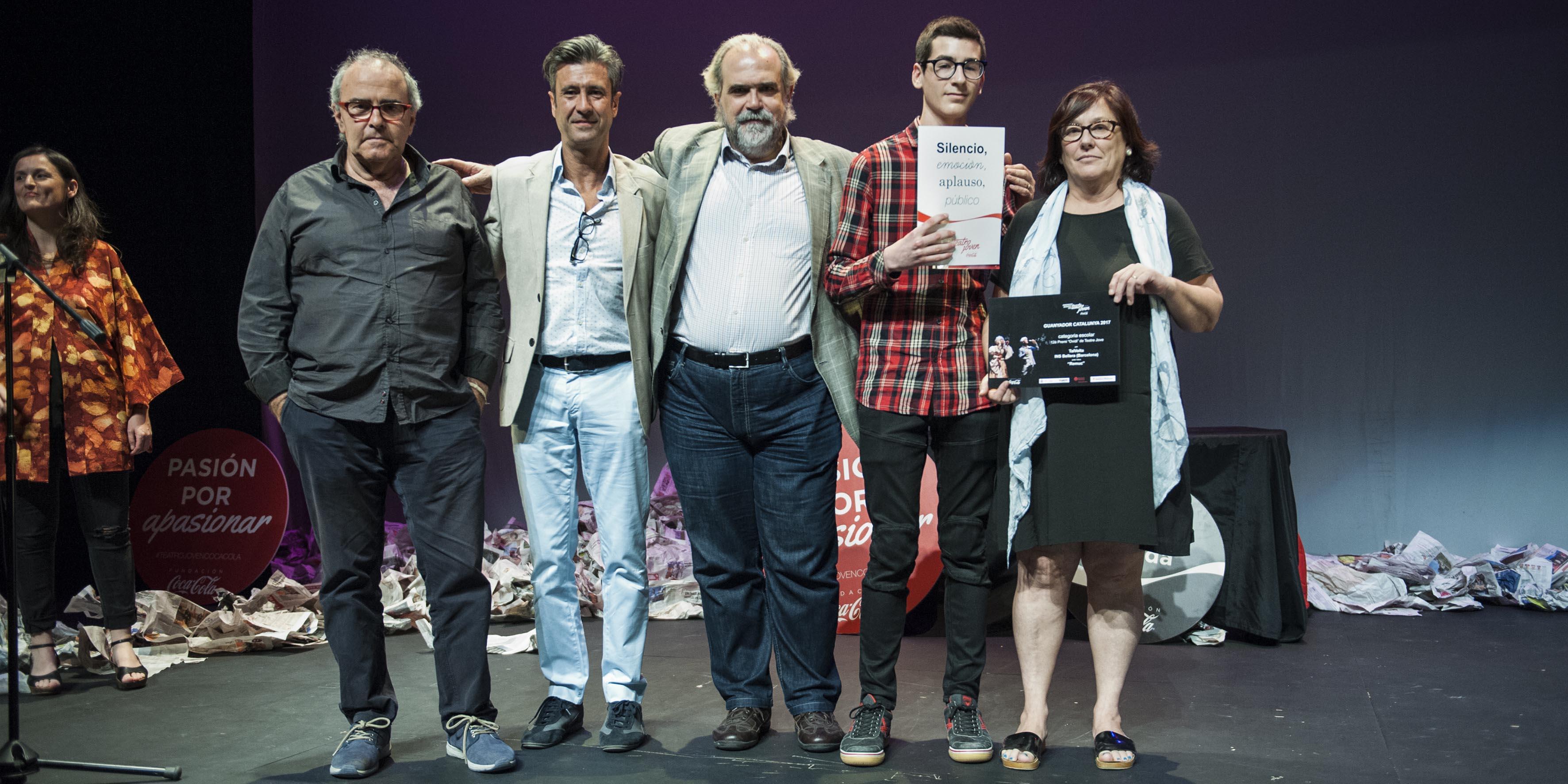 El premi es va entregar dissabte en un acte al Teatre Poliorama