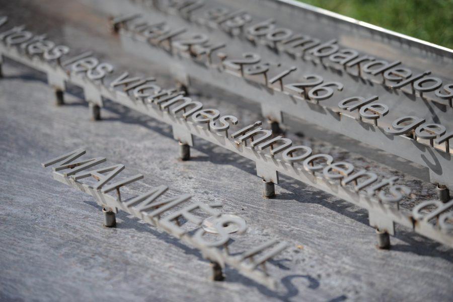 El monument que recorda les víctimes de l'atac del 31 de maig de 1938 / Ramon Ferrandis
