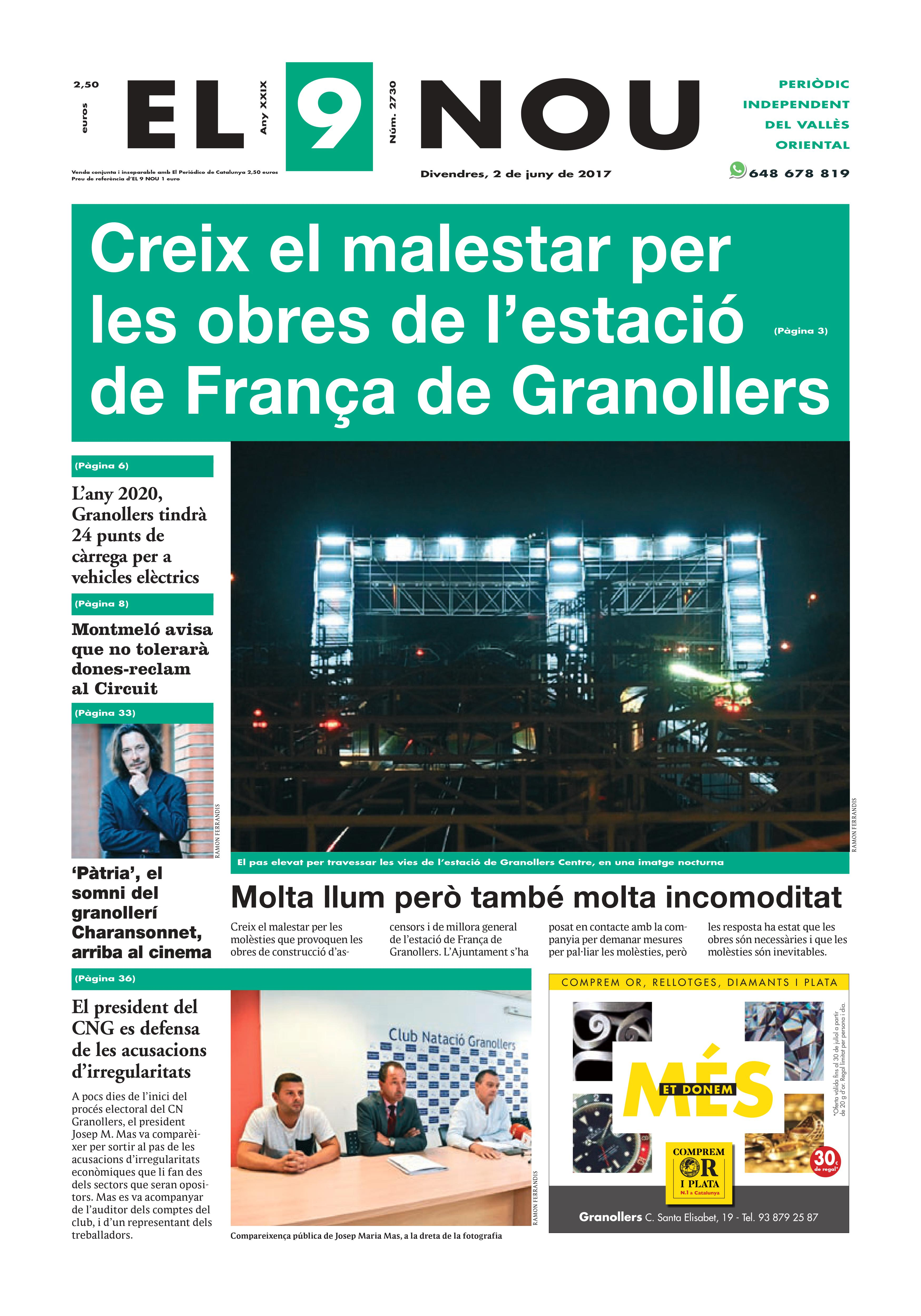 Portada Vallès Oriental 2/6/2017