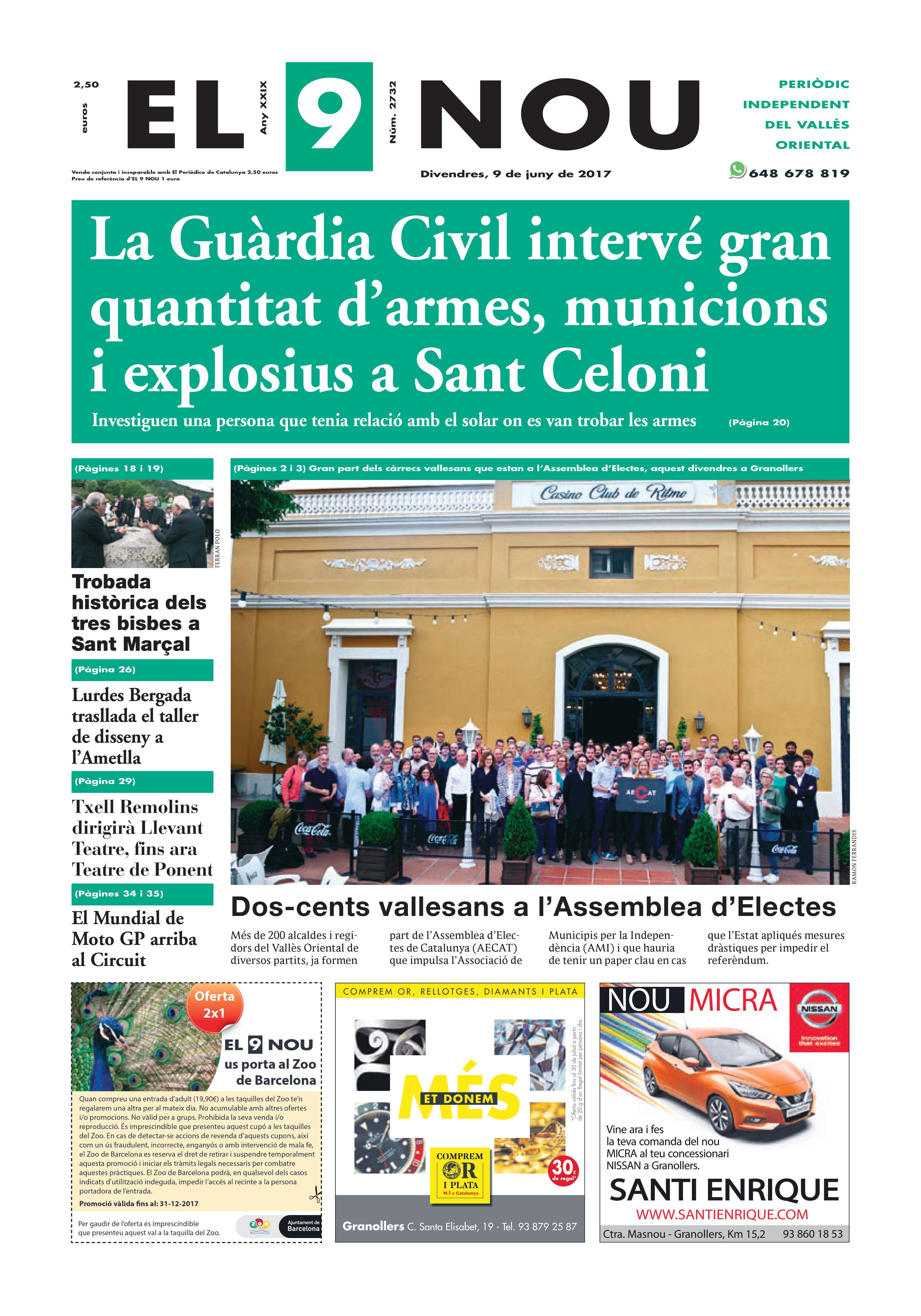 Portada Vallès Oriental 9/6/2017