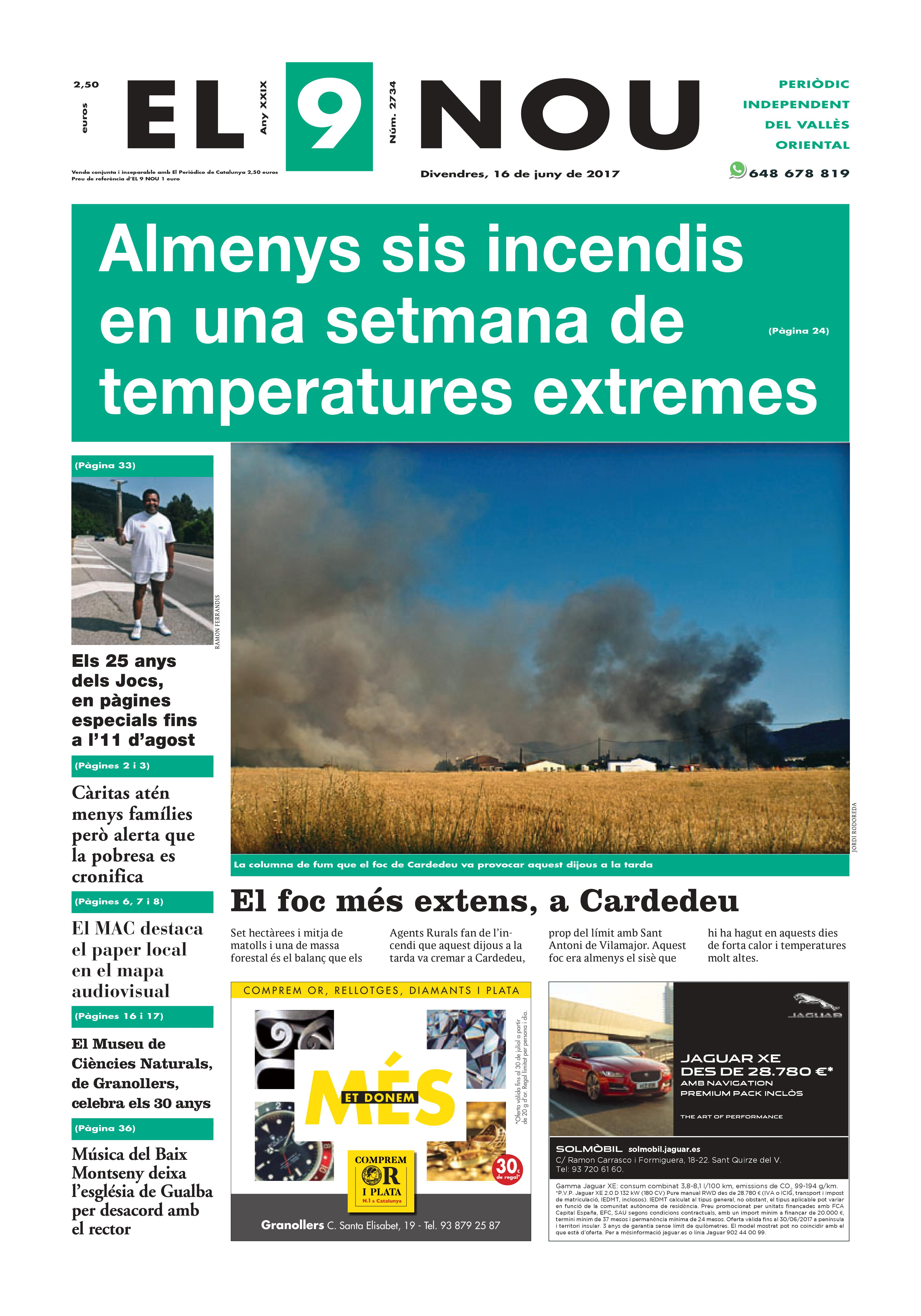 Portada Vallès Oriental 16/6/2017