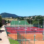 Pistes de tennis del Club Tennis Vic
