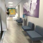 Aspecte interior de la clínica oberta a Granollers