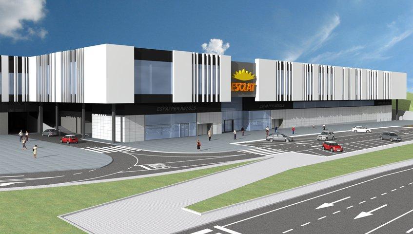 El nou hipermercat té una superfície comercial de 5.000 m² i 500 m² de magatzems i oficines