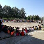 L'acte d'homenatge s'ha fet a l'Escola Joan XXIII