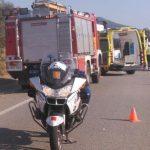 Efectius mobilitzats en l'accident de la C-59 a Caldes