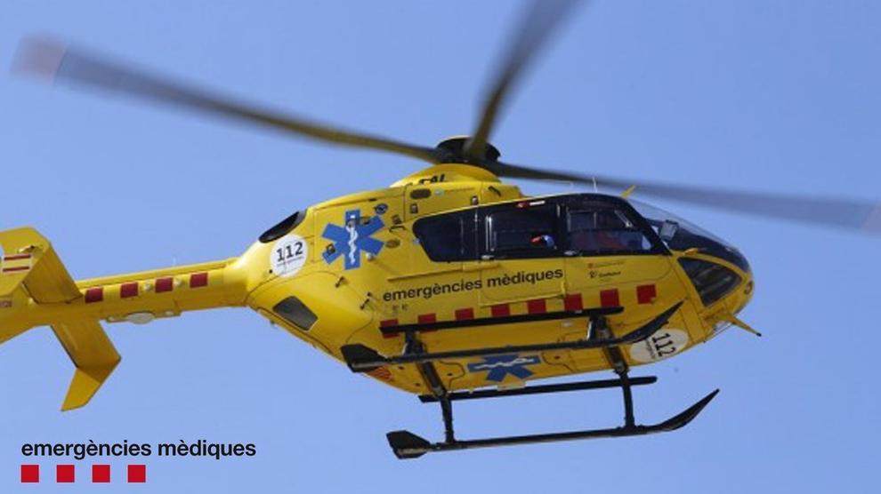 Helicòpter del Sistema d'Emergències Mèdiques