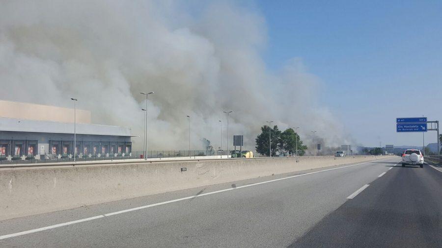 Més imatges del foc