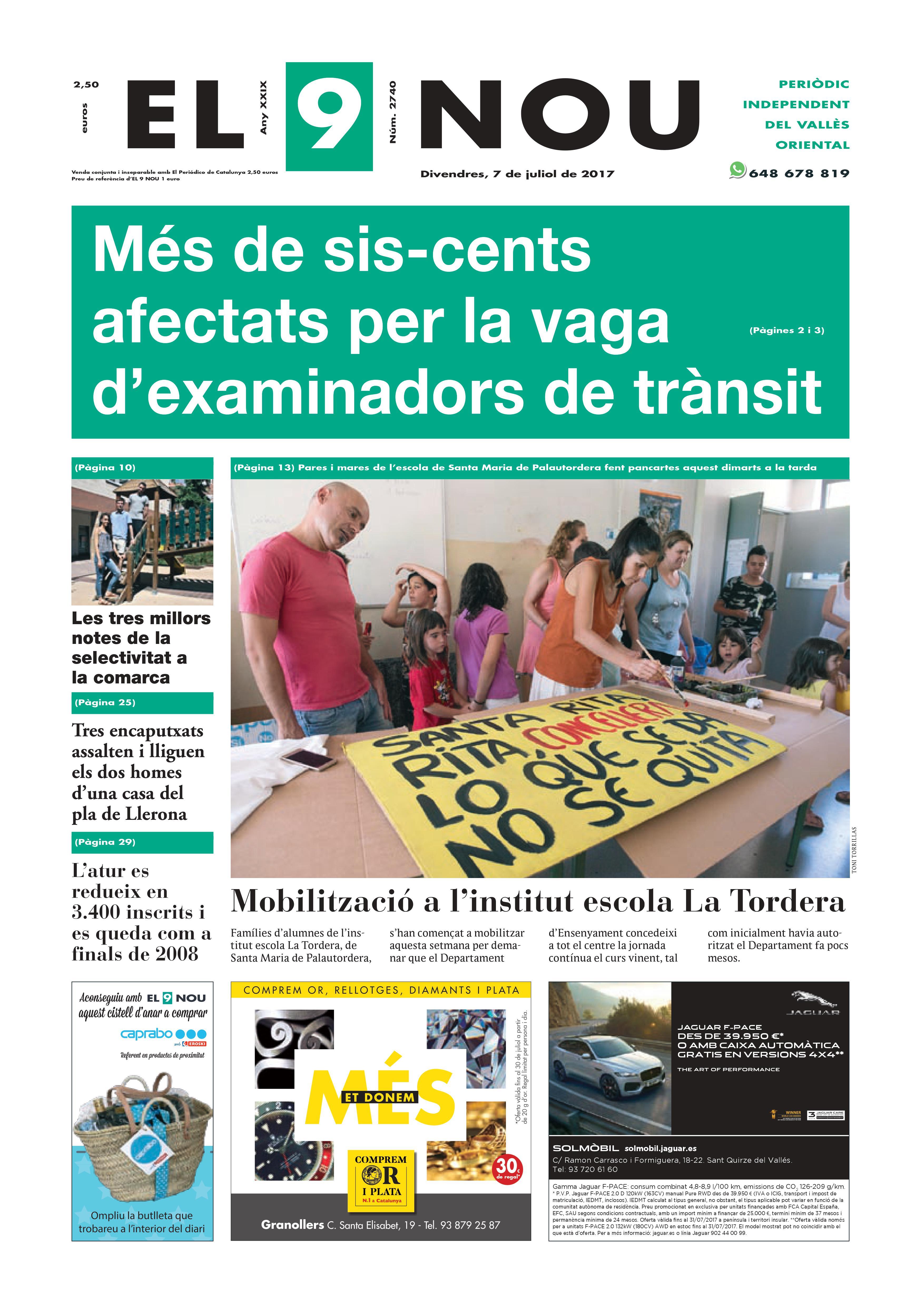 Portada Vallès Oriental 7/7/2017