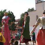 El ball de gegants va ser un dels actes més concorreguts