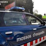 Cinc dotacions s'han desplaçat al lloc de l'accident