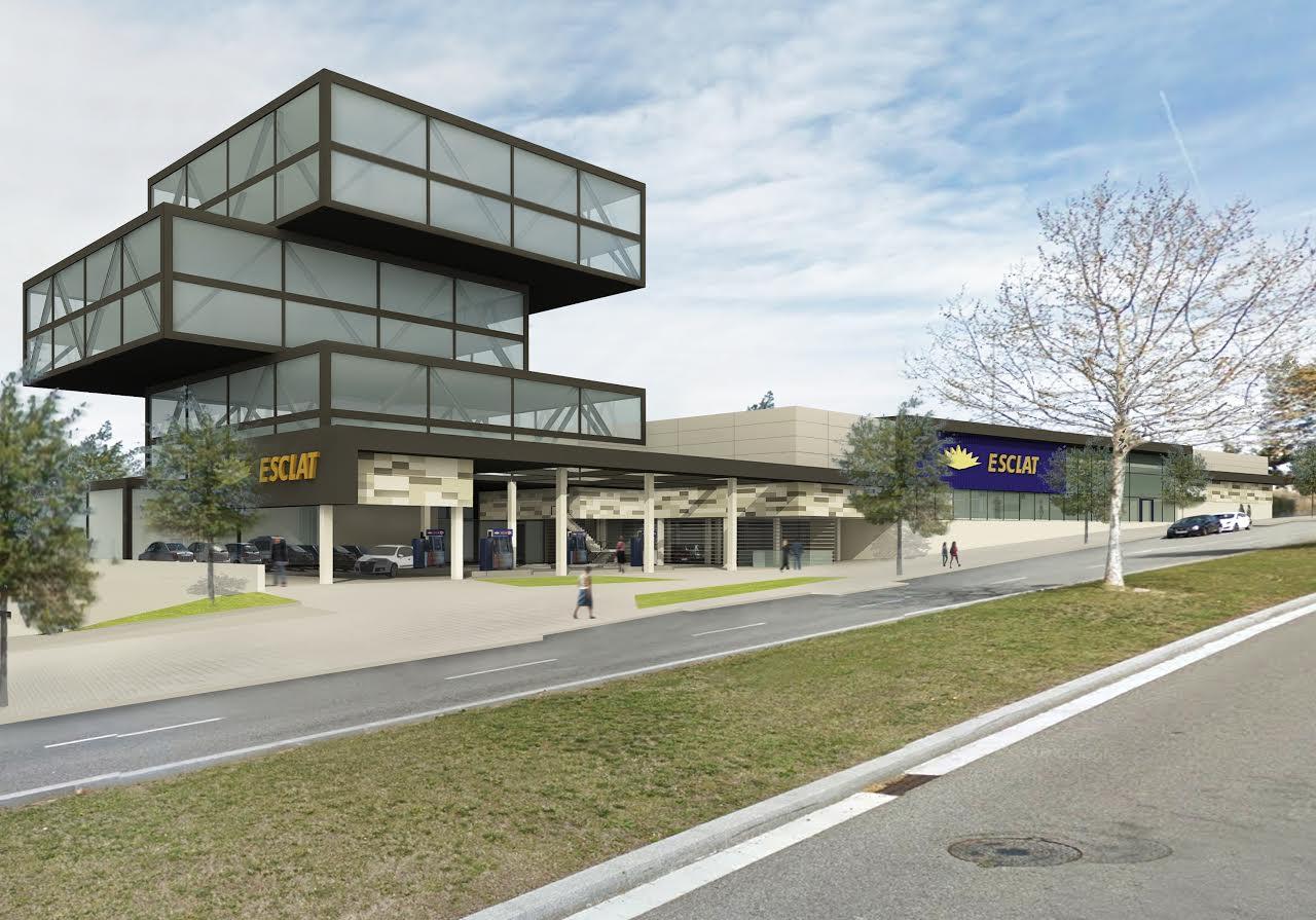 Imatge de com quedarà el nou complex de Bon Preu a Sant Cugat