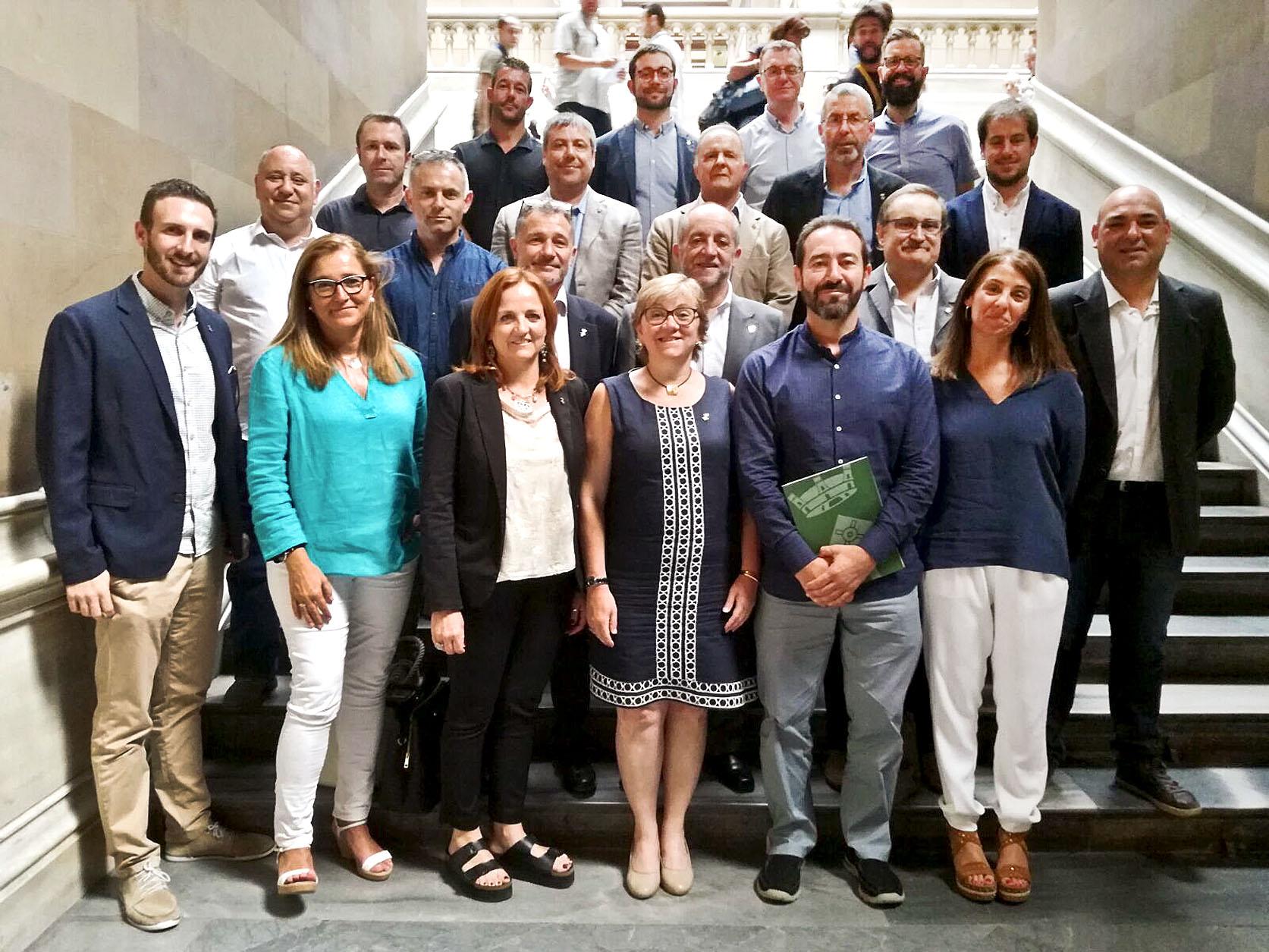 Alcaldes i regidors del Vallès Oriental dissabte a Barcelona