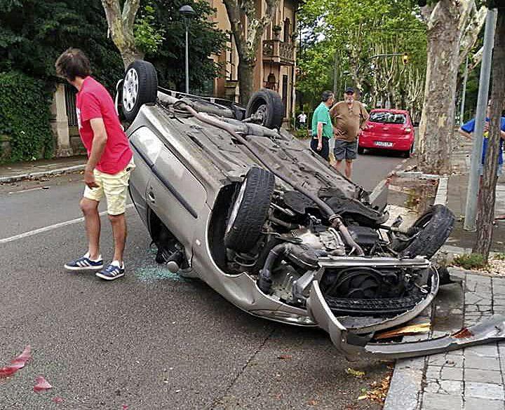 L'accident va passar a l'Avinguda Nostra Senyora de Montserrat