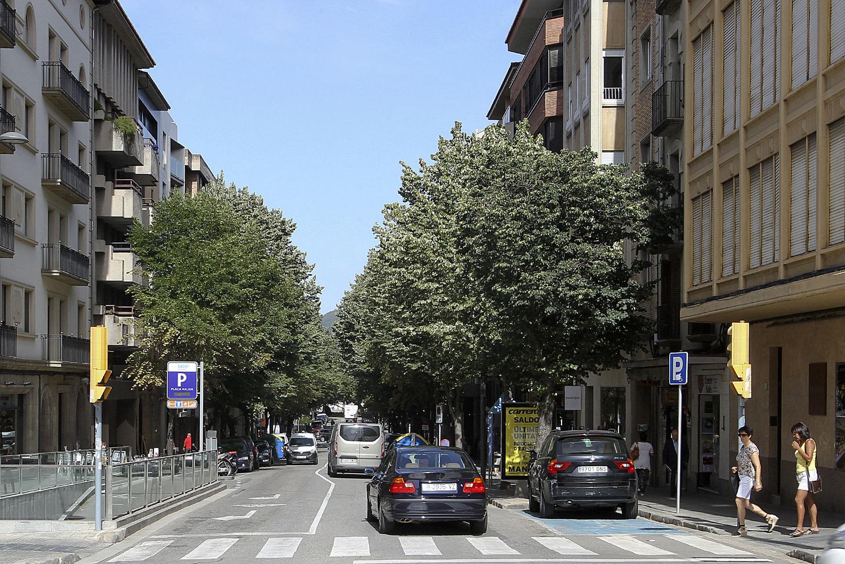 Imatge del carrer Verdaguer