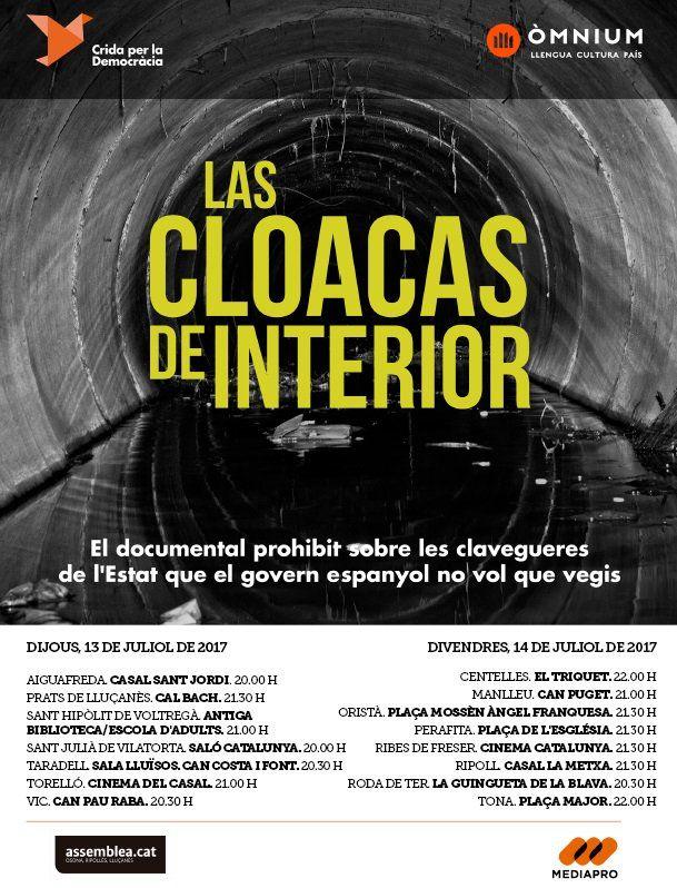 Imatge del cartell amb què es presenta el documental