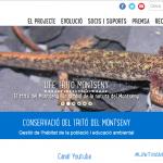 Imatge del web de seguiment del pla