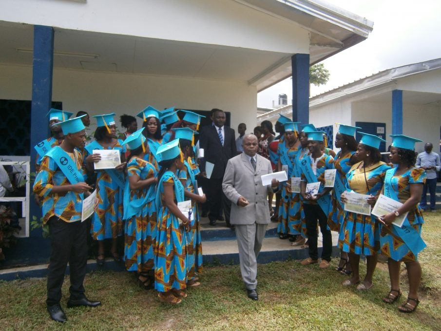 Celebració de la festa de graduació