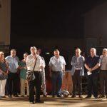 Representants de les entitats premiades en rebre el guardó