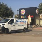 La segona furgoneta ha estat localitzada davant del Burger King de Vic